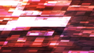 Twinkling Horizontal Slant Hi-Tech Small Bars, Red, Abstract, Loopable, 4K Stock Footage