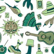 Fiesta elements Stock Illustration