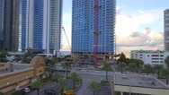 Aerial video Jade Signature Sunny Isles Beach Stock Footage
