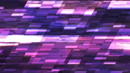 Twinkling Horizontal Slant Hi-Tech Small Bars, Purple, Abstract, Loopable, 4K Stock Footage