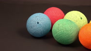 Ball of yarn Stock Footage