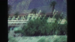 1969: vacation footage to a sunny resort in a town with a funny and unusual name Stock Footage