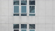 Window Glass building Stock Footage