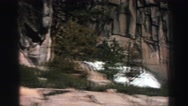 1969: showing a rock hill in a peacefull place YOSEMITE, CALIFORNIA Stock Footage