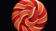 Sweet spiral turns from all sides Stock Footage
