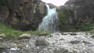 Beautiful Waterfall Footage Stock Footage