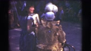 1951: the magic of medieval times in the eyes of children. CANADA Stock Footage