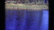 1951: a water scene is seen CANADA Stock Footage