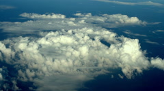 Big meteo cyclone formation aerial view Stock Footage