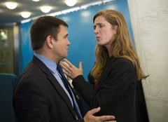 United States Ambassador to the United Nations Samantha Power Kuvituskuvat