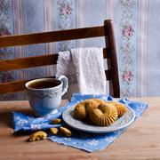 Dry brown pastry Stock Photos