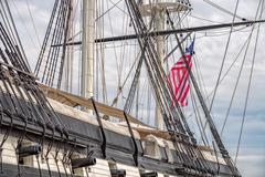 Constellation Fregate Cannons in Baltimore Harbor detail Kuvituskuvat