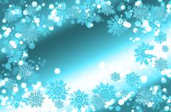 Decorative Christmas card Stock Photos