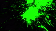 Whacky Coloured Paint Splash - 63 Stock Footage