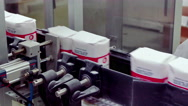 Processing of Sugar Beet in a Factory Facilities Stock Footage