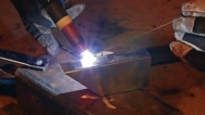 HD - TIG welding. slow-mo Stock Footage