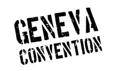 Geneva Convention rubber stamp Piirros