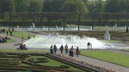 Herrenhausen Bell Fountain Stock Footage
