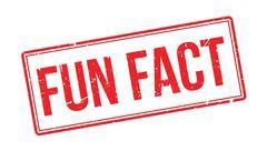 Fun Fact rubber stamp Stock Illustration