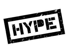 Hype rubber stamp Stock Illustration