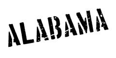 Alabama rubber stamp Stock Illustration