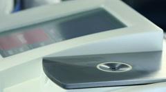 Medical laboratory test drib Stock Footage