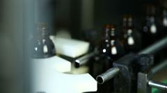 Production of liquid medication 5 Stock Footage
