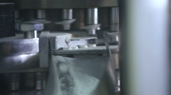 Production of tablets 5. Medicine Stock Footage