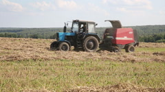 Agricultural work Stock Footage
