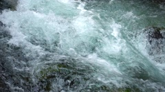 Blue water background Stock Footage