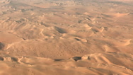 Flight over namibia desert dunes aerial Stock Footage