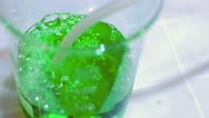 4k green chemical Stock Footage