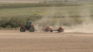 Drive By Tractor Stock Footage