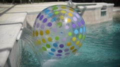 Beach Ball Stock Footage