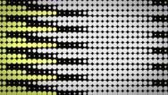 CI000053 Yellow Circle Background Stock Footage