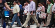 Pedestrians in ManhattanNew York City 4K Stock Footage