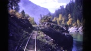 1967: train is seen COLORADO Stock Footage