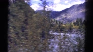 1967: beautiful scenery in the river bank COLORADO Stock Footage