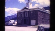 1967: old historical building with bell tower COLORADO Stock Footage