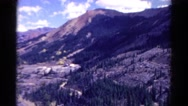 1967: hilly area is seen with trees and greenery COLORADO Stock Footage