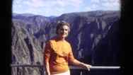 1967: let me pose for it COLORADO Stock Footage