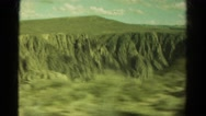 1967: drive through mountains COLORADO Stock Footage