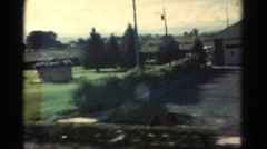 1967: road trip is seen COLORADO Stock Footage