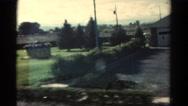 1967: road trip is seen COLORADO Stock Footage
