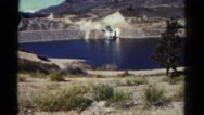1967: coastal area is seen with tall trees COLORADO Stock Footage