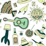 Fiesta elements Stock Illustration