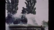 1948: waterfall is seen DENMARK Stock Footage