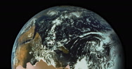 Concept about the Earth Planet, Real Time 4K, Moving Image Stock Footage