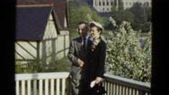 1951: couple is seen walking happily DANVILLE, ILLINOIS Stock Footage