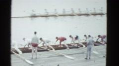 1951: sports event is seen DANVILLE, ILLINOIS Stock Footage
